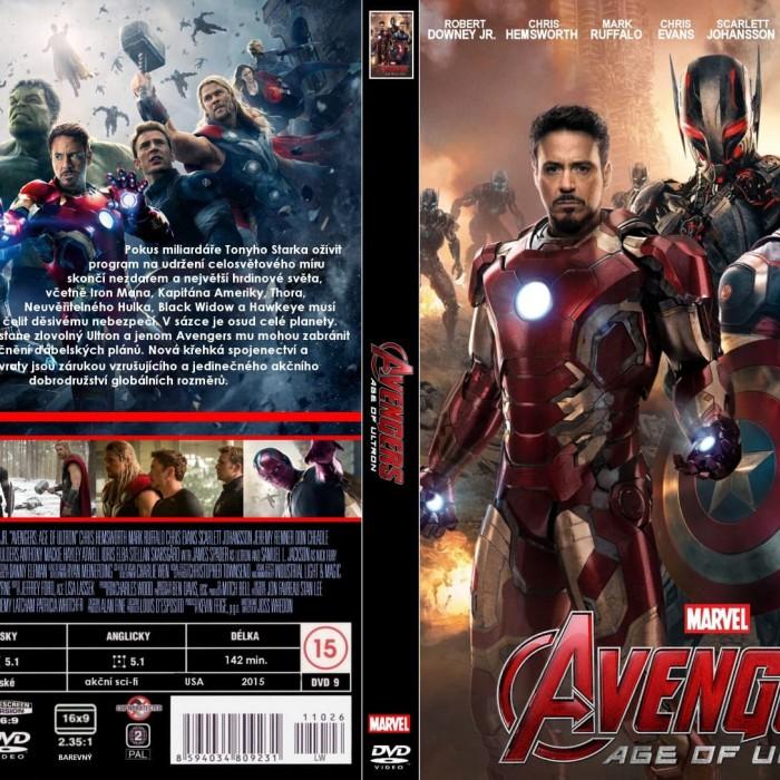Jual Film Dvd Avengers Age Of Ultron 2015 Movie Collection Film Koleksi Jakarta Barat M Collector Tokopedia