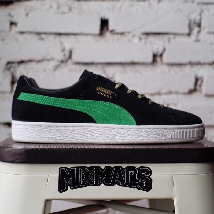 super popular bff3e 0a04f Jual Puma Suede x xLarge ㅤ Puma Black - Kelly Green ㅤ - Kota Bandung -  MiXMACS | Tokopedia