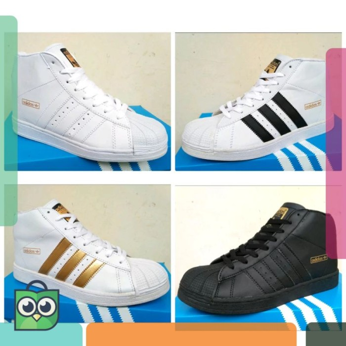info for d6313 c8a02 Jual Sepatu Adidas Superstar High Wanita Super Star Sepatu Tambah Tinggi -  Jakarta Pusat - Subur_Store   Tokopedia