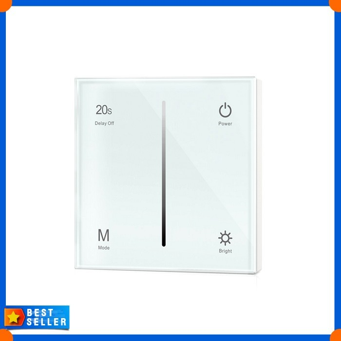 Jual AC100-240V 1CH Touch Control Panel Wall Mount LED Triac Dimmer Light -  DKI Jakarta - Best Singapore Shop | Tokopedia