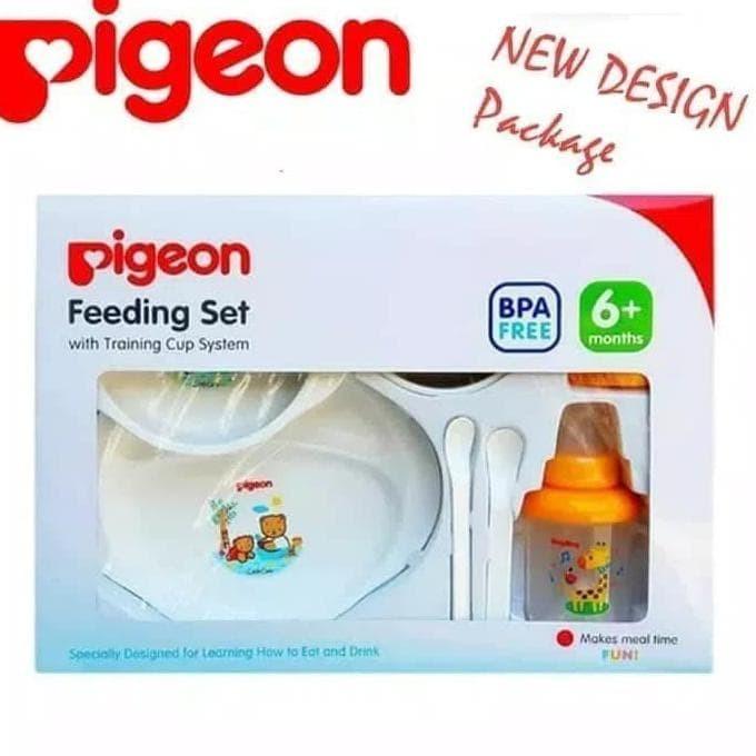 Info Terbaru Harga Satu Set Tempat Makan Bayi Pigeon ...