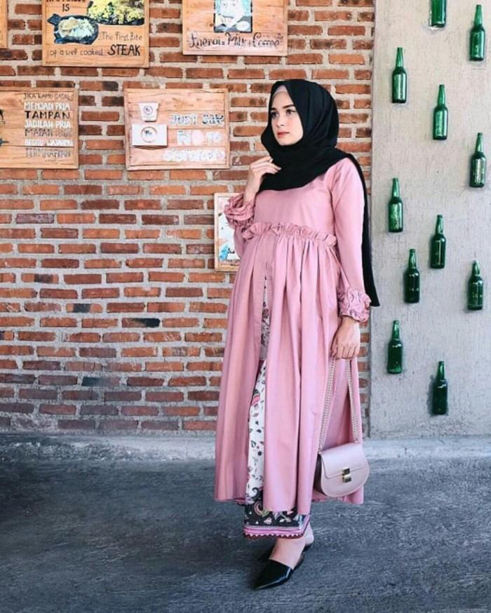 Jual Np Gamis Pesta Ibu Hamil Baju Kondangan Murah Faulina Dress Dki Jakarta Boris Santama Tokopedia
