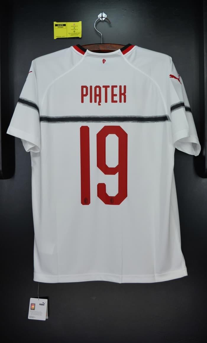 new style cca39 a077c Jual AC Milan 2018-19 Away. PIATEK. Original Jersey. PUMA 754426 03 - Kota  Bandung - raja baya | Tokopedia