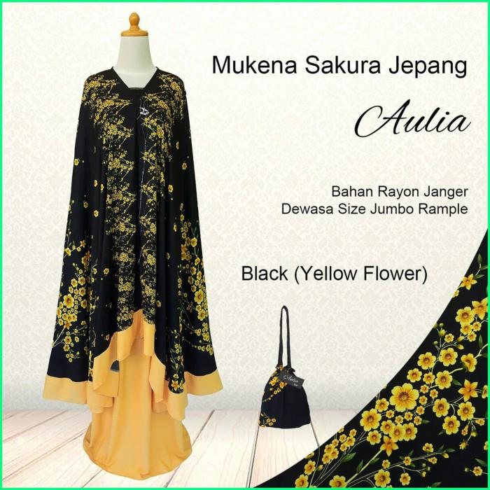 Foto Produk MUKENA BALI TERLARIS! Black(Yellow Flower) / EKSKLUSIF LIMITED STOCK dari MUKENA BALI LUCU