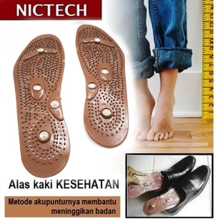 Foto Produk Alas Kaki Peninggi Tubuh / Alat Terapi Sandal Sepatu Kesehatan -COKLAT dari EFEKTIF