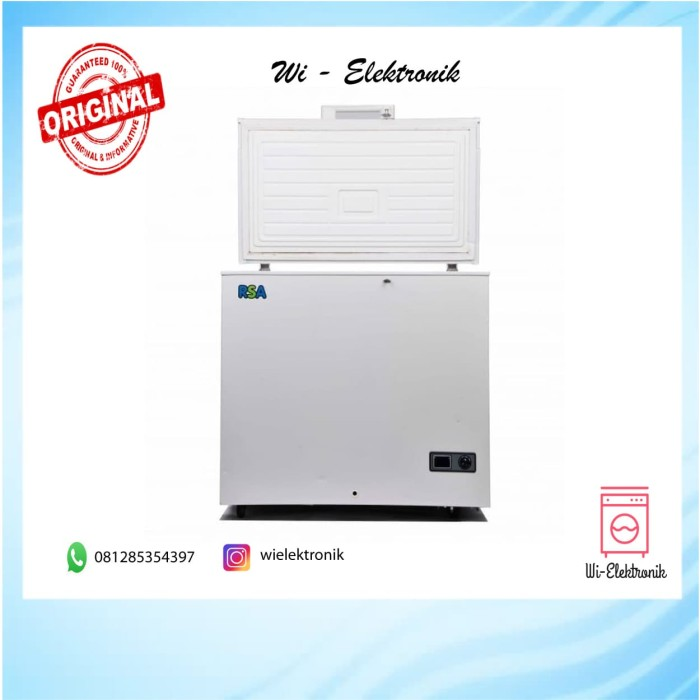 harga Chest freezer rsa cf-150 Tokopedia.com