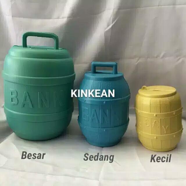 Foto Produk Celengan plastik KECIL dari Kinans_collection