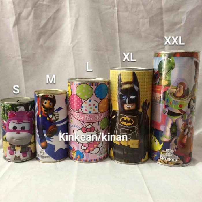 Foto Produk Celengan kaleng Ukuran (XL) dari Kinans_collection