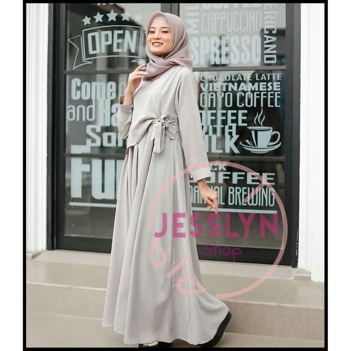 Jual Baju Dress Wanita Muslim Kekinian Tarogong Kidul Faza Leather Shop Tokopedia