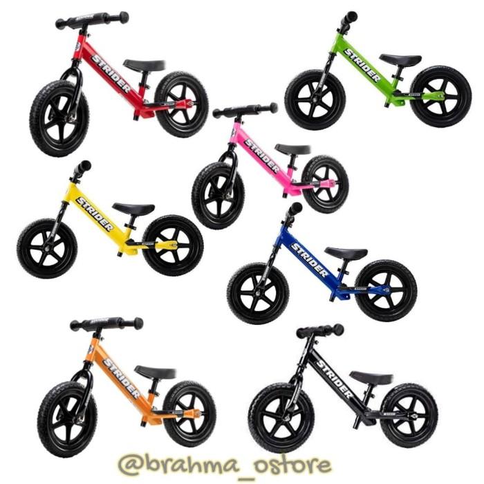 Jual Strider Balance Bike Sepeda tanpa pedal - Kota