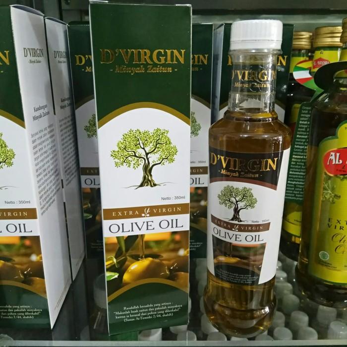 Foto Produk Minyak Zaitun D'VIRGIN Olive Oil EXTRA VIRGIN dari harga grosir 01