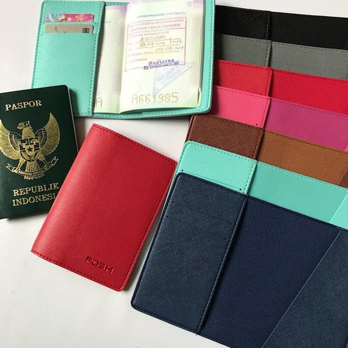 New Passport Holder Protector Cover Wallet PU Leather Cover For Keep FD