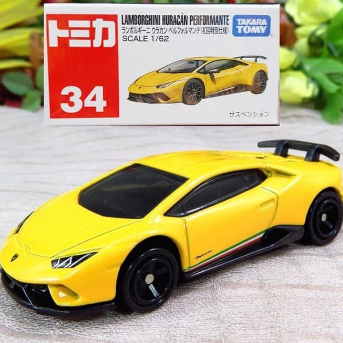 Lamborghini For Sale >> Jual Hot Sale Tomica Reguler 34 Lamborghini Huracan Performante Yellow Jakarta Pusat Hadi Hadi52 Tokopedia