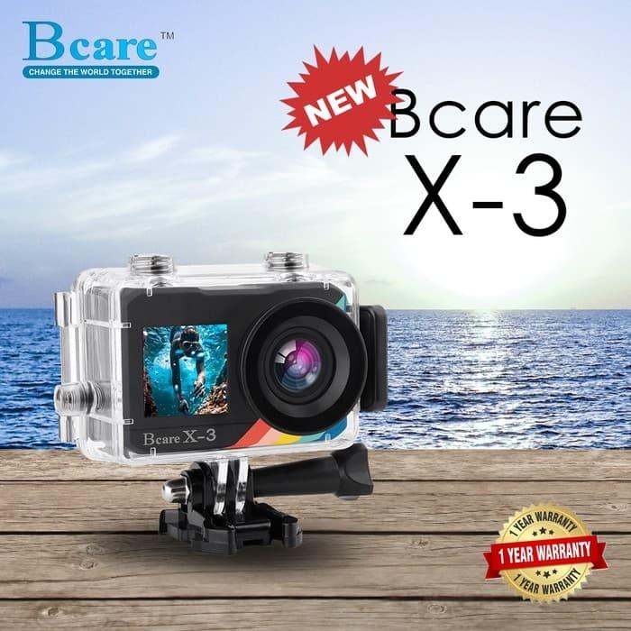 harga Bcare bcam x 3 action cam b care x 3 4k wifi 16mp sony sensor Tokopedia.com