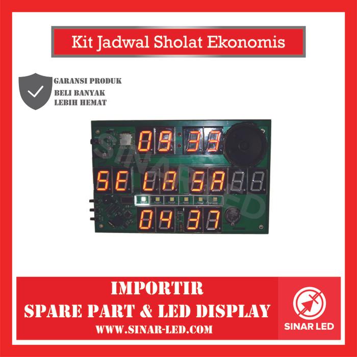 Foto Produk Kit Jadwal Sholat Ekonomis dari sinar led