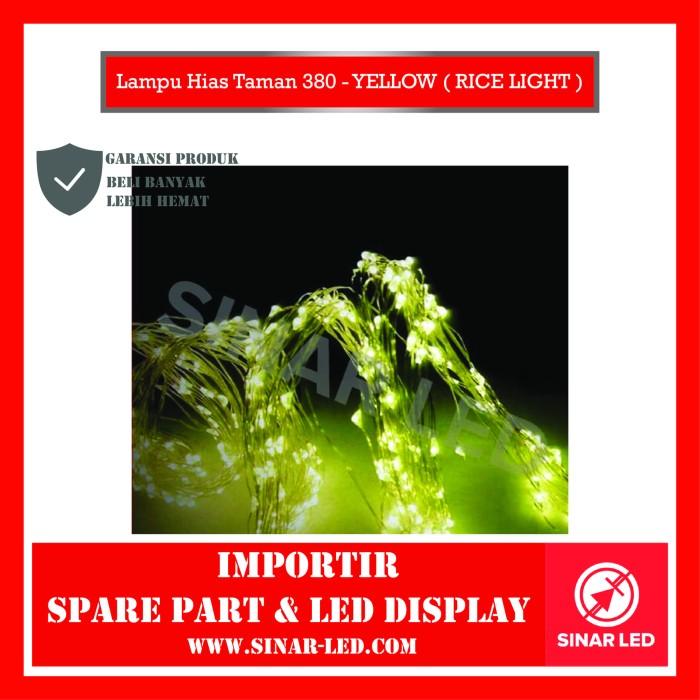 Foto Produk Lampu Hias Taman 380 - YELLOW ( RICE LIGHT ) dari sinar led