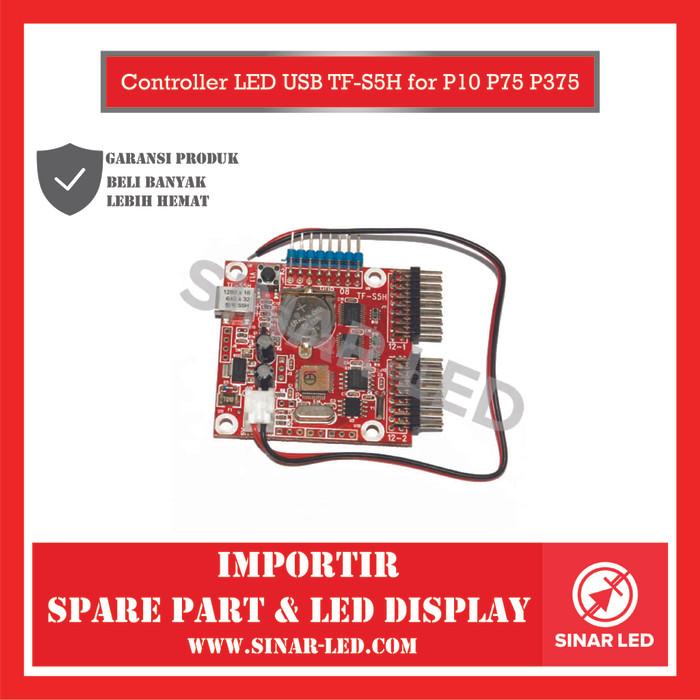 Foto Produk Controller LED  USB TF-S5H for P10 P75 P375 dari sinar led