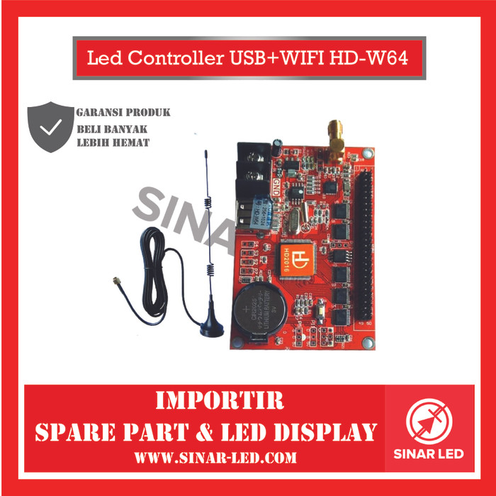 Foto Produk Led Controller USB+WIFI HD-W64 dari sinar led