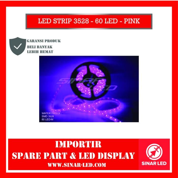 Foto Produk LED STRIP 3528 - 60 LED - PINK dari sinar led