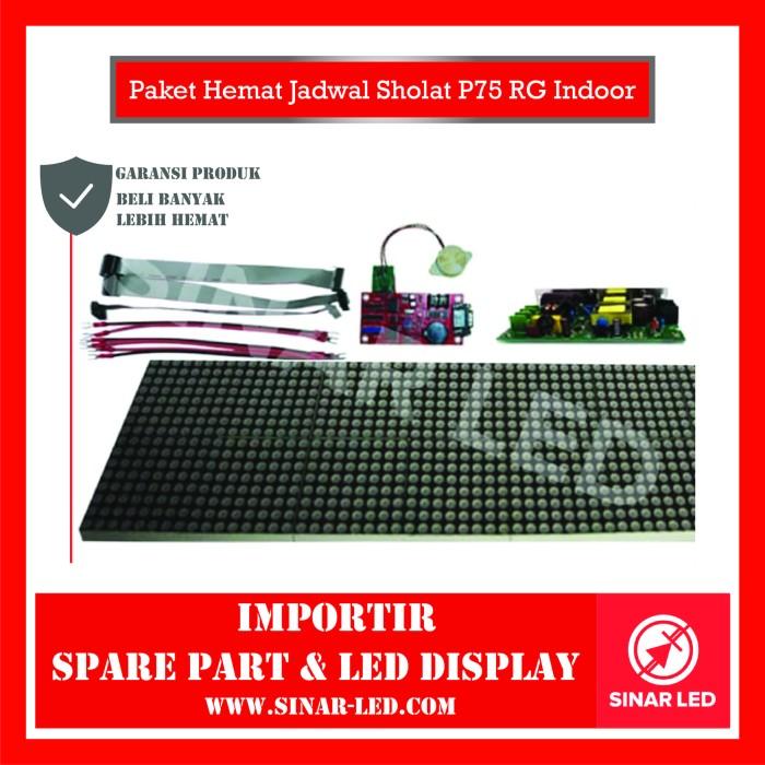 Foto Produk Paket Hemat Jadwal Sholat P75 RG Indoor dari sinar led