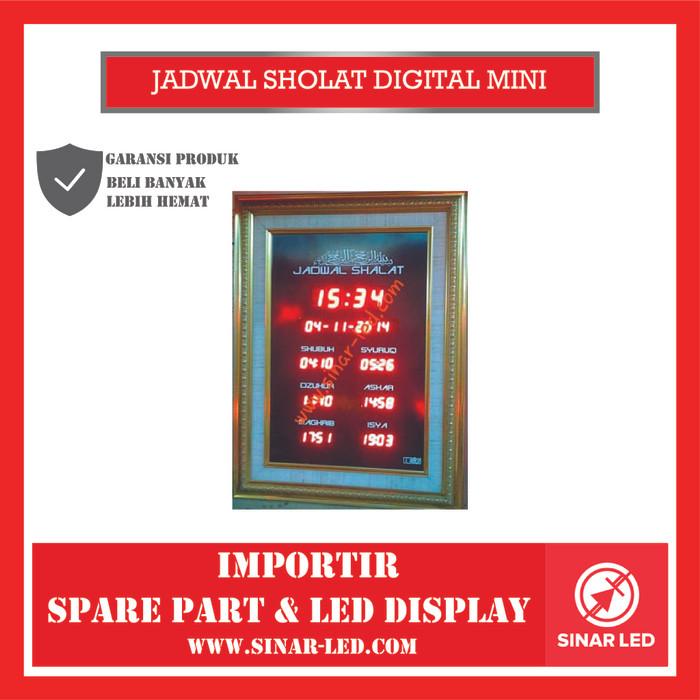 Foto Produk JADWAL SHOLAT DIGITAL MINI dari sinar led