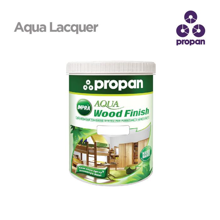 Foto Produk WATERBASED TOP COAT PROPAN IMPRA AQUA LACQUER CLEAR DOF 1 L dari Toko Cat Propan