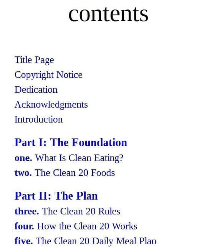 Jual The Clean 20: 20 Foods, 20 Days, Total Transformation - Kota Surabaya  - kotabook | Tokopedia