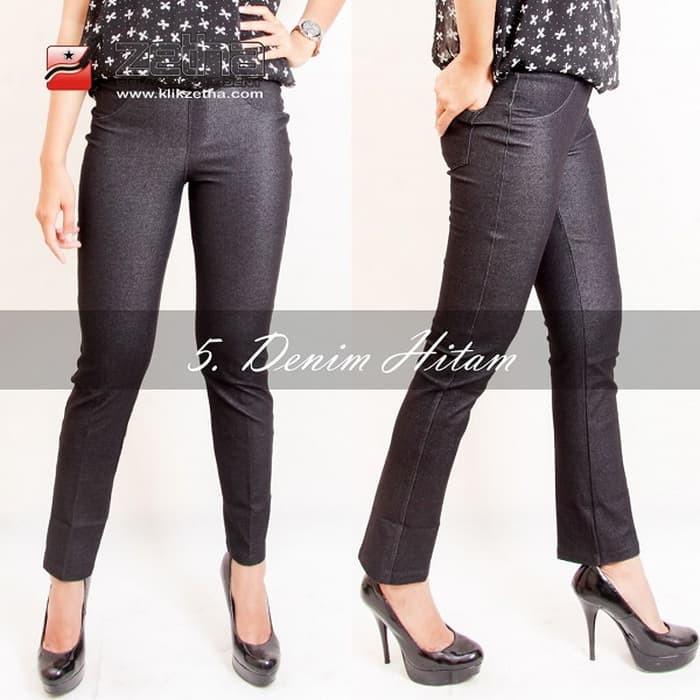 Jual Tersedia Celana Legging Wanita Terbaru Hitam Size M High Quality Asli Kab Temanggung Celana Legging Jumbo Tokopedia