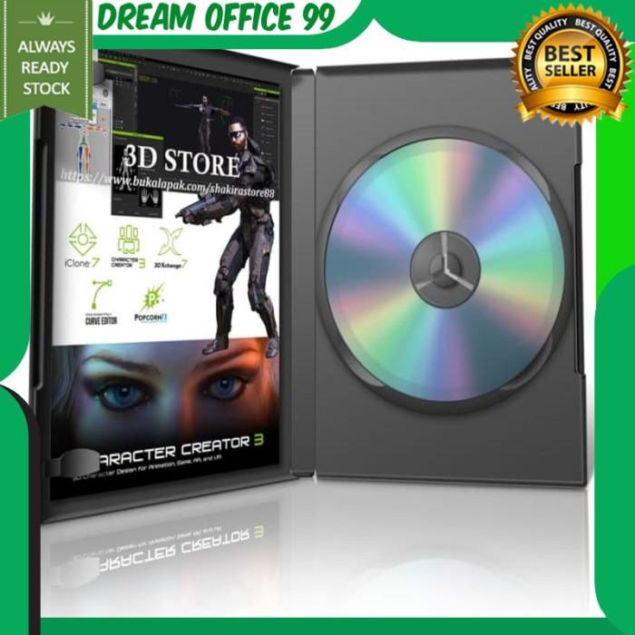 Jual Reallusion iClone 7 Character Creator 3 3DXChange 7 PopcornFX dll -  Jakarta Barat - DREAM OFFICE 99   Tokopedia