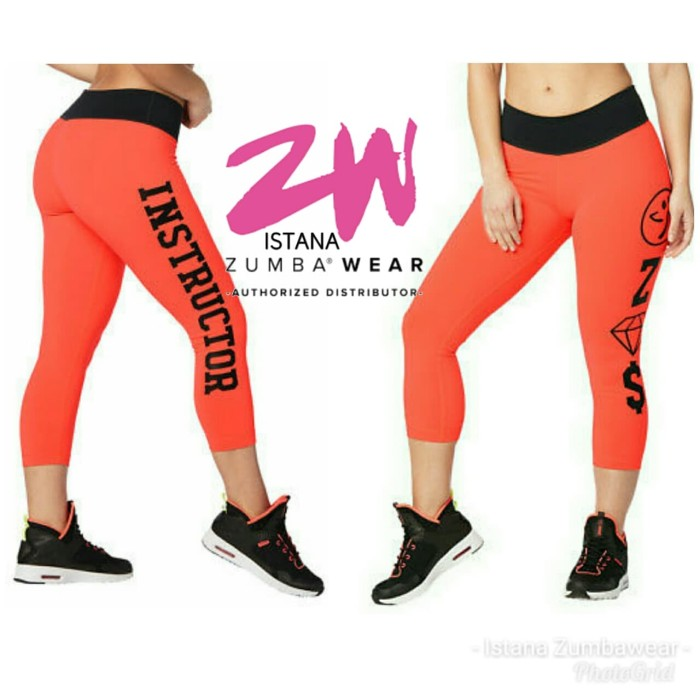 0e68532b4501c8 Jual Zumba Instructor Crop Leggings - , - Kota Manado - Istana ...