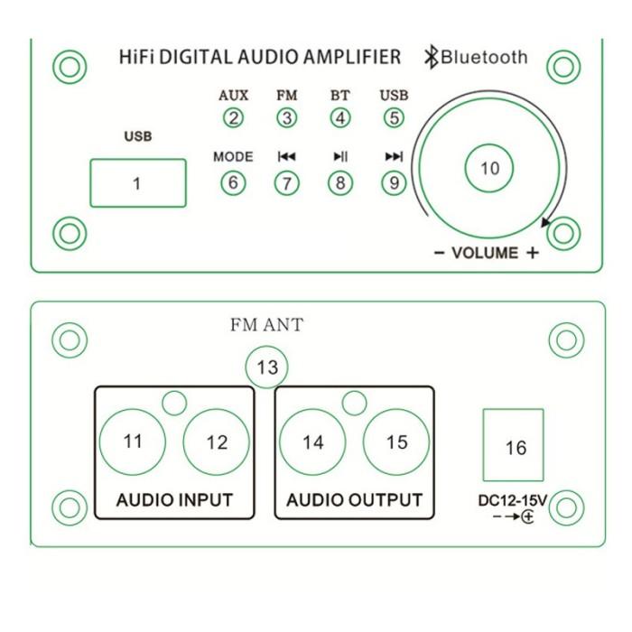 Jual 6J1/6J2 bile preamp tube amplifie Bluetooth V4 2 Tube Preamplifier -  Kota Surabaya - Turtle_Store | Tokopedia
