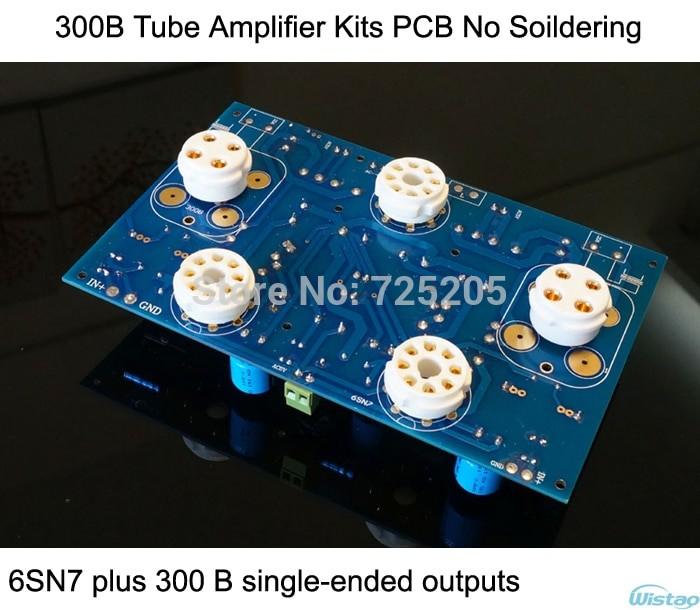 Jual 300B Tube Amplifier Kits PCB No Including Tubes No Soldering 6SN7 -  Kota Surabaya - Vegas_Store | Tokopedia