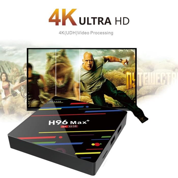Jual H96 MAX TV Box Android 9 0 4GB RAM 32GB ROM Smart TV Set Top Box -  Kota Surabaya - Yusin Store | Tokopedia