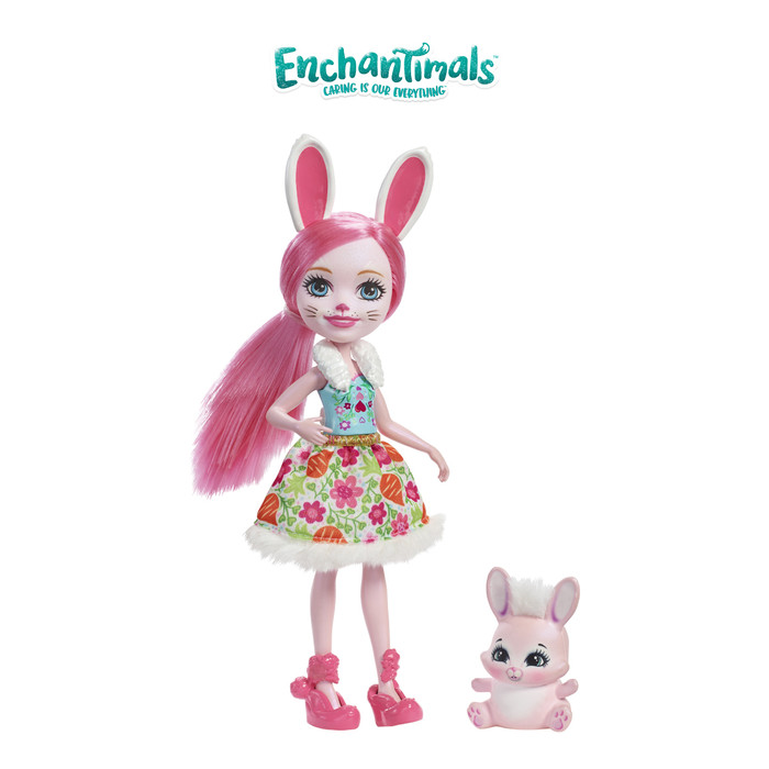 harga Enchantimals bree bunny doll and twist figure- mainan boneka perempuan Tokopedia.com
