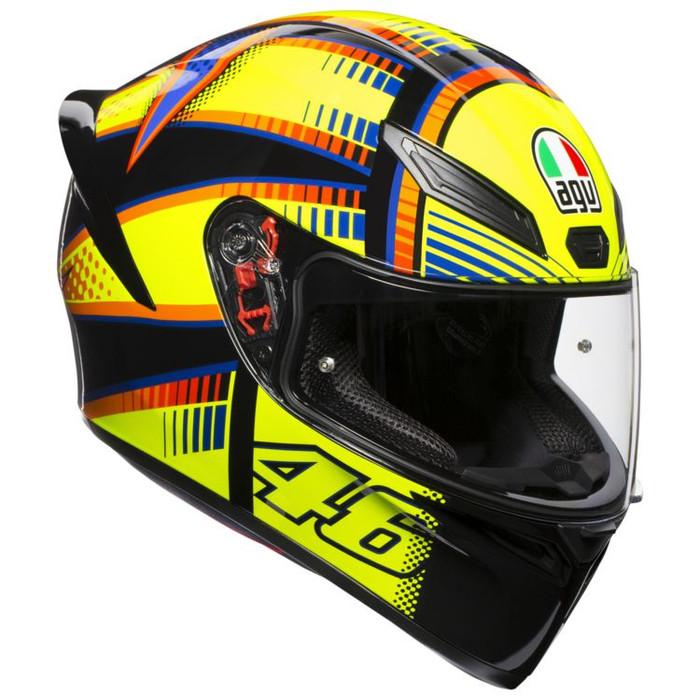 Jual Helm Agv K1 Motif Soleluna 46 Yellow Rossi Agv K1 K 1kuning Kota Bekasi Asian Gallery Helmet Tokopedia
