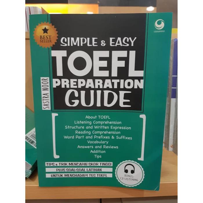 harga Simple & easy toefl preparation guide Tokopedia.com