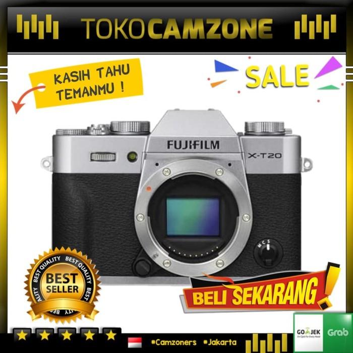 harga Fujifilm x-t20 / xt20 / x t20 body only Tokopedia.com