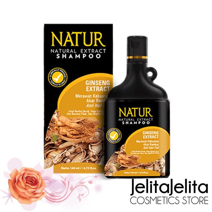 Foto Produk Natur Shampoo Gingseng Extract 270ml - Untuk Rambut Rontok dari JelitaJelita