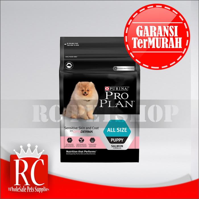 harga Makanan anjing / dog food pro plan all size puppy sensitive 2.5 kg Tokopedia.com