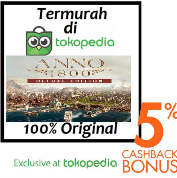 Jual Anno 1800 DELUXE EDITION PC ORIGINAL (UPLAY) - DOWNLOAD - Kota Bekasi  - Steam Key | Tokopedia