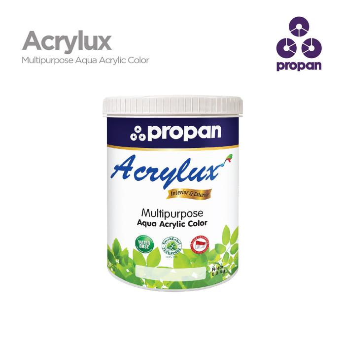 Foto Produk WATERBASED TOP COAT PROPAN ACRYLUX CLEAR GLOSS 0.9KG dari Toko Cat Propan