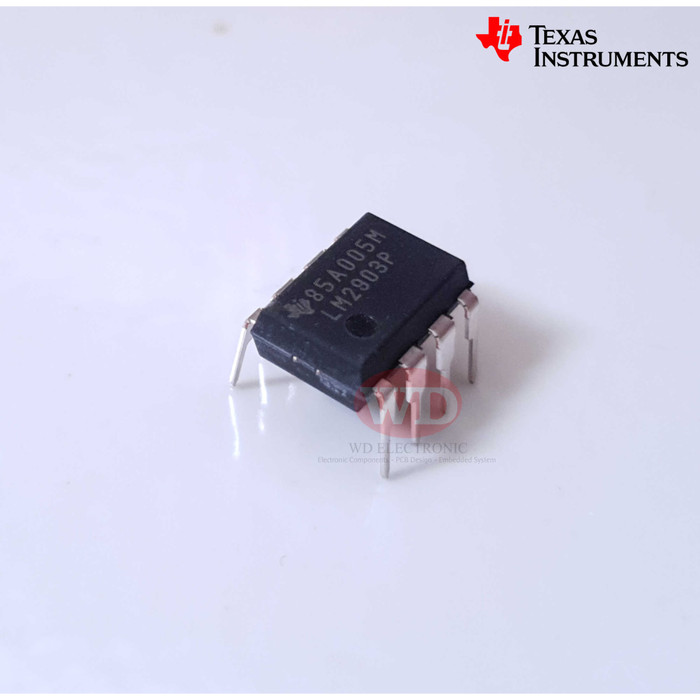 General Purpose Differential Comparator TI DIP-8 5x LM2903P  Dual