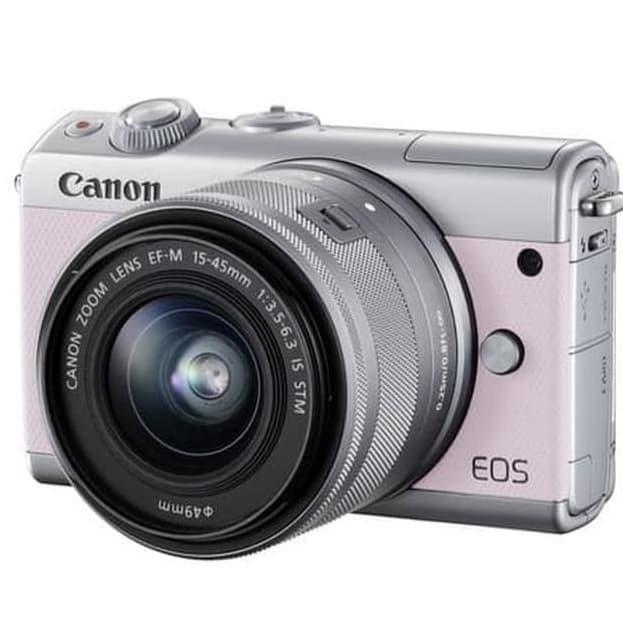 harga Kamera mirrorles canon eos m100 kit 15-45mm is stm garansi resmi Tokopedia.com