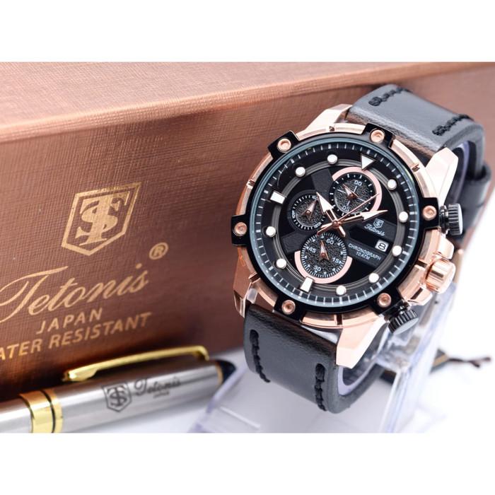 harga Jam tangan kulit pria tetonis original Tokopedia.com