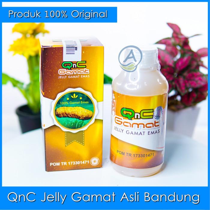 Foto Produk Obat Penyakit Miom - Obat Kista Miom - QnC Jelly Gamat Original dari Store Andry Hermawan