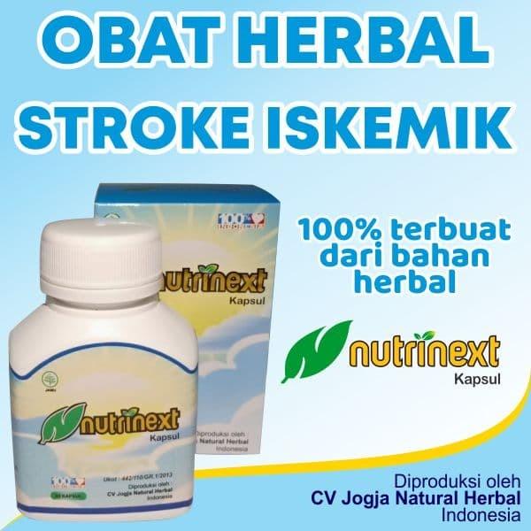 Foto Produk Obat Stroke Iskemik - Nutrinext Kapsul Herbal dari ti Tasik Com