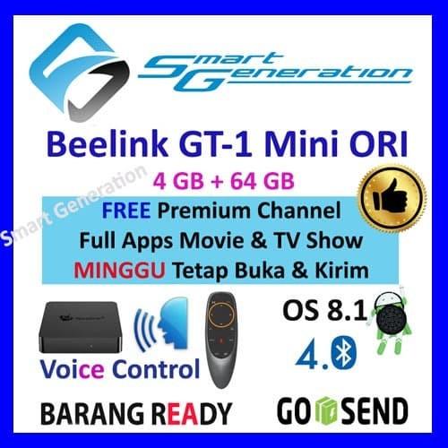 Jual Beelink GT1 MINI Android Tv Box Voice Remote RAM 4GB ROM 64GB 8 1OREO  - DKI Jakarta - Smart Generation   Tokopedia