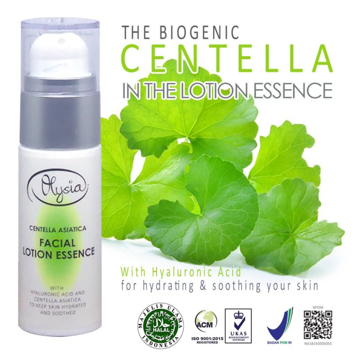 Foto Produk Centella Asiatica Facial Lotion Essence dari Olysia Beauty