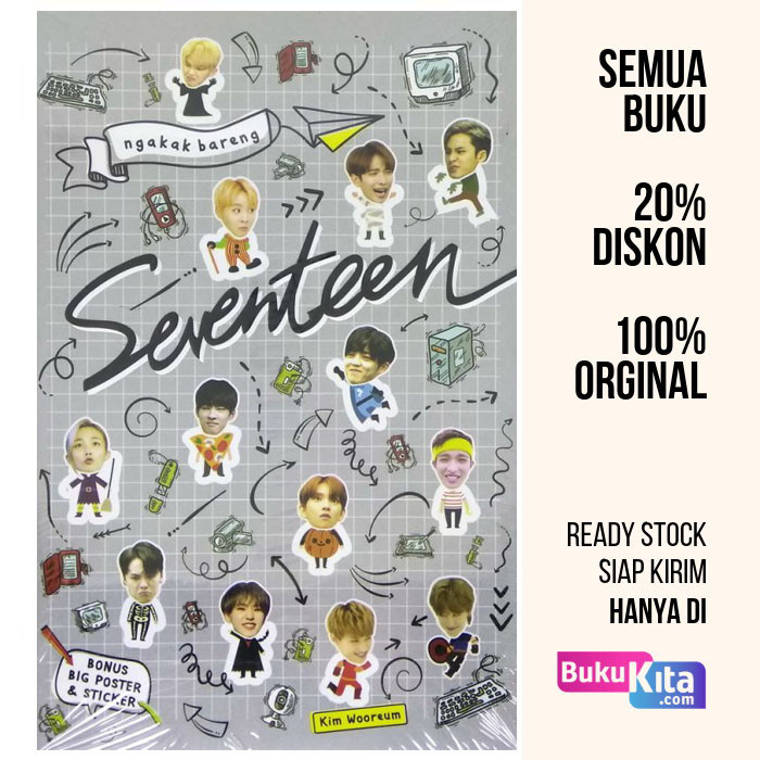 harga Buku ngakak bareng seventeen oleh kim wooreum Tokopedia.com