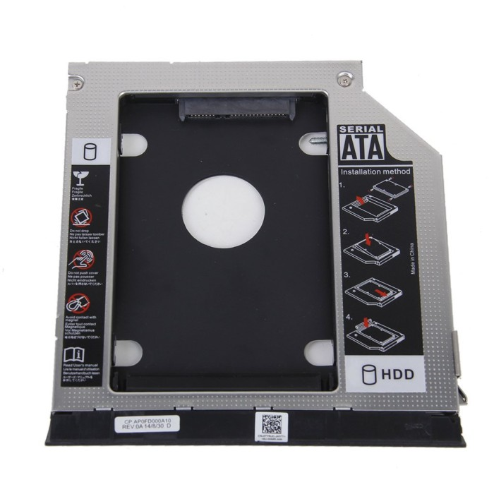 Jual 2nd HDD Bracket for Dell E6420 E6520 E6320 E6430 With Ejector Bezel -  Kota Surabaya - Twenty__Store | Tokopedia